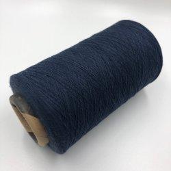 16s des fils de polyester coton recyclé pour Socks Knitting