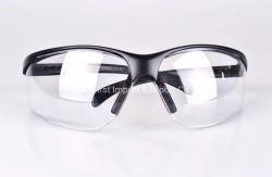 Gafas de seguridad transparente Gafas de seguridad con contorno negro
