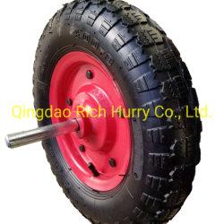16 pulgadas de 4.80/4.00-8 de la rueda de goma de neumático para carretilla o Handtruck