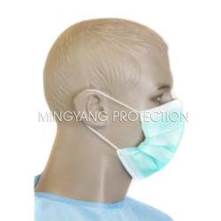 Wegwerfgesichtsmaske passte nichtgewebte Gesichtsmaske-Lebensmittelindustrie-Gebrauch-Gesichtsmaske u. Wegwerf-pp.-Gesichtsmaske-Gesichtsmaske-Filterpapier-Gesichtsmaske an