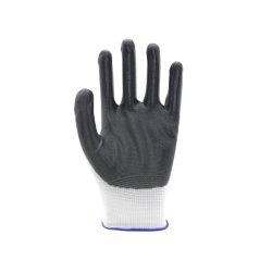Protection du travail avec revêtement en nitrile, usage industriel ou construction sécurité au travail Gants/gants de travail