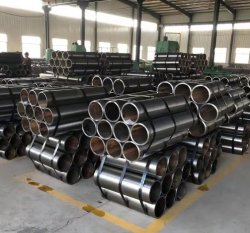 Tuyaux sans soudure en acier au carbone A519 4130 4140 1010 1020 1030 1040 1045 l'usinage de l'industrie du tube du vérin d'huile ronde&tubulaire de matières premières