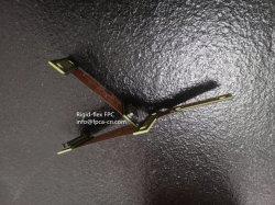 , FPCA FPC rígidos flexíveis circuito PCB combinado, flexível PCB, circuito impresso flexível
