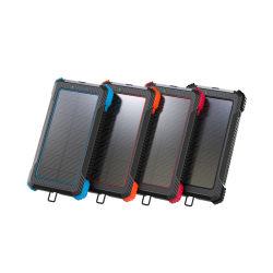 Frais de voyage USB rechargeable portable d'urgence solaire Chargeur de téléphone mobile