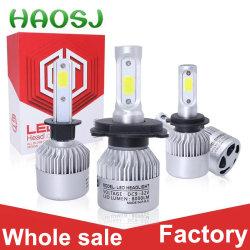 Selbstbeleuchtung-Großverkauf-Kopf-Lampe PFEILER 72W 8500 der Lumen-6500K H7 H11 H4 Scheinwerfer-Birne Auto-des Licht-S2 des Auto-LED
