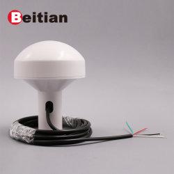 Module récepteur GPS Beitian avec Antenne 4 Câble 3,0 m : SCR rouge, vert Rx, Tx, noir blanc Gnd, 5.0V niveau RS-232 BS-573n