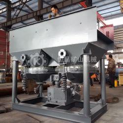 Jt2-2 2-6 Tph Jigger Gabarito de Mineração de separação da máquina para ouro aluvial