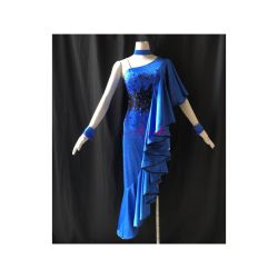 L'usura di ballo delle donne di Kaka, le ragazze il vestito latino, vestito da Chacha di Rumba della samba di tango del vestito dalla salsa, balla il vestito latino