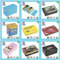 Doos van het Tin van de Verpakking van de rechthoek de Verpakkende voor Suikergoed/Chocolade