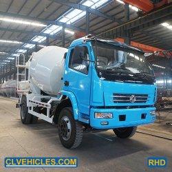 Перемешивание грузовик дешевые конкретные смешайте погрузчика с 6м3 для продажи
