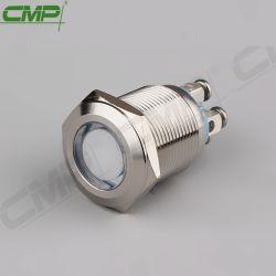 19mm Terminal de parafuso de fixação do painel de Cor RGB RGY tricolor luz indicadora