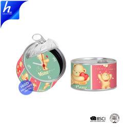 Comercio al por mayor de promoción personalizada de mostrador exclusivo reloj lata