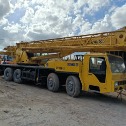 Utilisé lourd Camion grue mobile 50 la tonne en bon état de fonctionnement