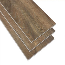 4mm PVC olhar madeira Plank Intertravar o SPC pisos de vinil Borda pintada
