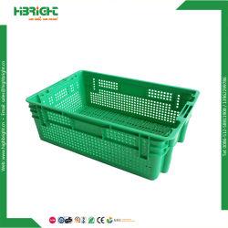 El volumen de negocios de frutas de plástico personalizada pantalla vegetal Cesta de la caja contenedor