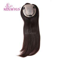 Les hommes Toupee 100 % de cheveux humains