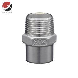Junya Molde de rosca conector macho Bw soldar tubos de acero inoxidable Montaje de accesorios de tubería niple hexagonal estampar