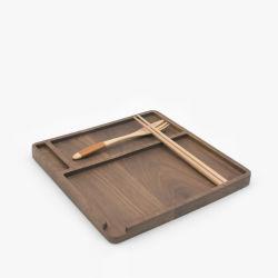 Cassetto d'assistenza del mestiere della visualizzazione di legno della noce