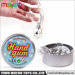 液体のガラスシリコーンのパテの透過考えるパテのAnti-Stress机のおもちゃ
