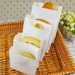 De Rang die van het voedsel de Witte Bladen van het Document van Kraftpapier verpakken