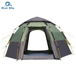 [بلوباي] سعر مصنع مباشرة 4 شخص مزدوجة طبقة [هيكون] [وتر بررووم] خيمة المخيم