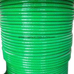 Enduit PVC PP PE Wire Rope élingue en acier galvanisé