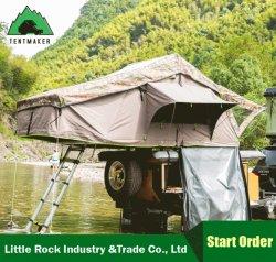 Открытый внедорожник Canvas кемпинг палатка на крыше автомобиля для установки вне помещений