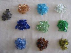 装飾的なガラス宝石石の魚飼育用の水槽のアクアリウムのガラス玉