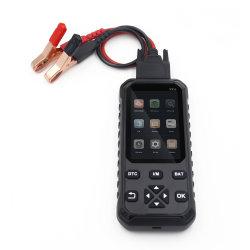 Ecrã LCD a cores do conector OBD2 Ferramenta de diagnóstico automático com 6 Idioma
