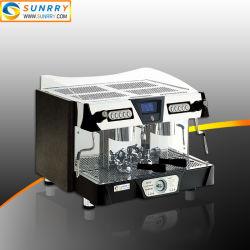 商業半自動二重ヘッド電気エスプレッソメーカーのコーヒー機械