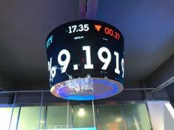 P4mm weiche LED Gummibaugruppe, die video flexible LED-Bildschirme bekanntmacht