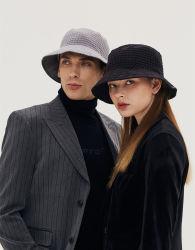 모자 주문 Cacuss 모자 모자 면 물통 모자, 남녀 공통 2개의 옆 어부 모자
