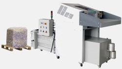 Trituradora de papel industrial con sistema hidráulico de la empacadora