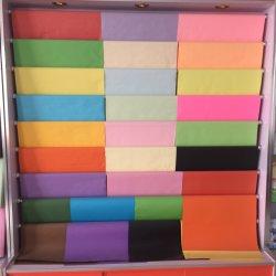 60/70/80GSM finos de cor o papel offset a impressão em cores branco