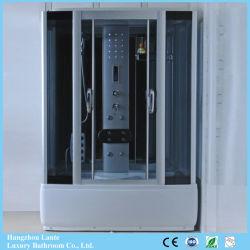 Glazen kast met massagedouche en rechthoekige schuifdeur (LTS-8915)