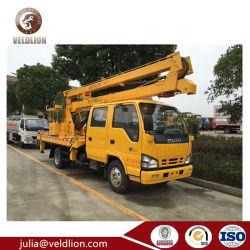 I camion aumentante idraulico della Tabella di elevatore della piattaforma di Suzu 4X2 14meter 14m per la potatura dell'albero e la raccoglitrice della ciliegia