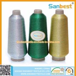 100% polyester métallisé pour broderie Broderie thread