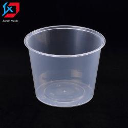 Прозрачные одноразовые Круглый стакан с крышкой Пластиковые формы 800 мл