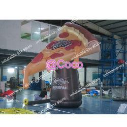 4m 13футов надувной пиццу, надувные модели пиццы с вентилятором для Fast Food рекламы модель продукта