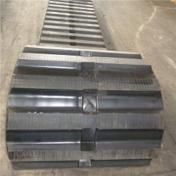 Mst Dumper2200 partes separadas do material rodante (750x150x66) rasto de borracha