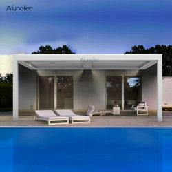 Luxe Gazebo van de Pergola van het aluminium de Bioklimatische met het ZijScherm van de Zon