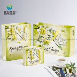 China Manufacture Beautiful Recycleable Favor Paper Printing Packaging Gift Bags
