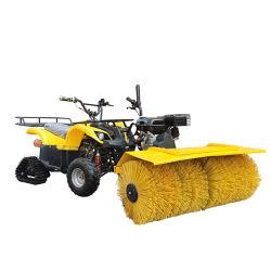 Chariot de la neige d'entraînement de la balayeuse fournisseur souffleuse à neige