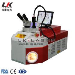 macchina di saldatura del laser dell'oro del saldatore del laser del punto del saldatore YAG del laser dei monili della saldatrice del laser del punto dei monili dell'argento dell'oro di 60W 100W 200W