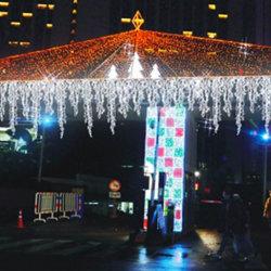 Des Weihnachtenled Zeichenkette-Weihnachtsdekoration-Lichter Eiszapfen-Licht-LED für Großverkauf