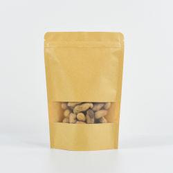 Bolsas de embalaje de papel Kraft fino para empaquetado de alimentos