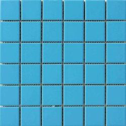 De decoratieve Blauwe Verglaasde Tegel van het Mozaïek van het Gebruik van het Zwembad van het Porselein Ceramische