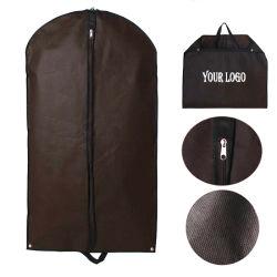 Couvercle de promotion de gros de haute qualité de la poussière respirable transporter costume vêtement Robe Sac avec fermeture zip pour les voyages et le stockage