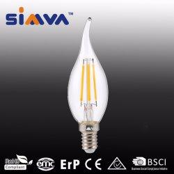 Светодиодная лампа Simva светодиодные лампы накаливания в форме свечи 4 Вт (40 Вт) 480lm 2200-6500K E14/E27 360 градусов с маркировкой CE утвержденных