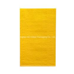 Aangepaste HDPE pp van de Zak van de Verpakking van Leveranciers 25kg 50kg Plastic Duidelijke Witte Geweven Zakken